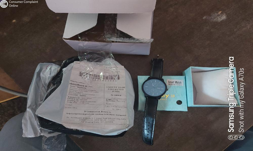 Franco G series watch Complaints - consumercomplaintonline.in